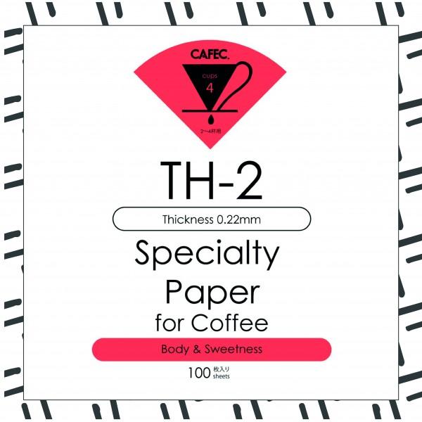 Cafec TH-2 Filtre Kağıdı 100 Ad.