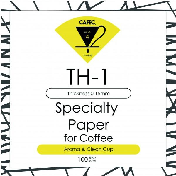 Cafec TH-1 Filtre Kağıdı 100 Ad.